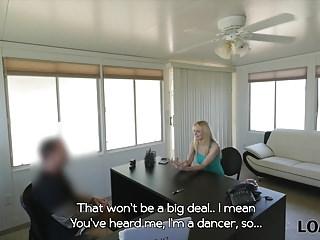 Nude dancing and flexible dancers Loan4k. go-go dancer will dance on his dick