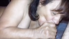 84yo Rosa Marrone from Salerno and 52yo Rob have squirting sex