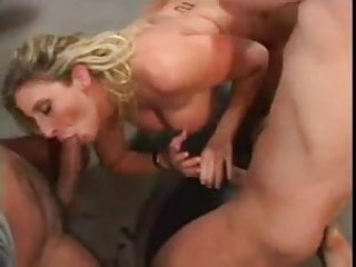 Shemale playing with cum Four girls sucking and playing with cum