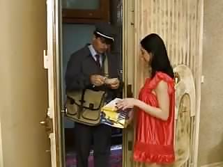 Postman naked girl - Postman