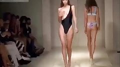 nude models in fashion show