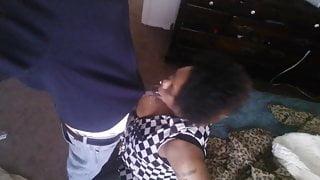 Black mama swallows