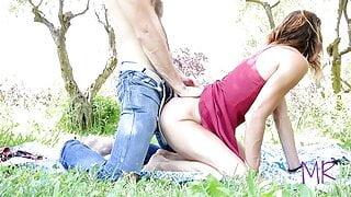 Outdoor Public Sex - Real Amateur Couple