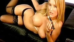 UK babe Danica Thrall - phone sex with sound