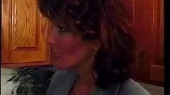 Sexy Candy Vegas gets her pussy pounded by in the kitchen