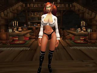 Sexy male elf graphics Wowgirlx - sexy elf strip-tease