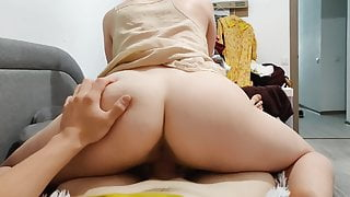 HOT COCK RIDE WITH PREGNANT WIFE