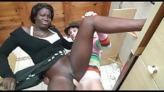 Black Maid Fucked By Her Boss