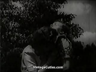 Vintage 1930s furniture Two women eat pussy outdoors 1930s 1930s vintage