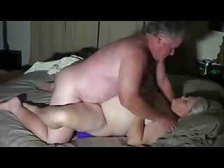 Husband fucks wife and young girl Husband fucks wife