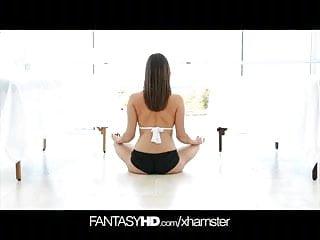 Gay massage penetration Fantasyhd dp double penetration yoga massage