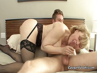 Sexy sucked Sexy aunt nina hartley sucks everything out of my young cock