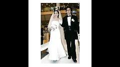 Amwfクリスティーナ・コンファロニエリのイタリア人少女と韓国人男が結婚