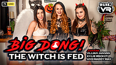 WankzVR - Big Dong! The Witch Is Fed!