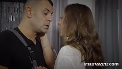 Private.com - Hot Busty Zazie Skymm Sucks & Anally Fucks Cock!