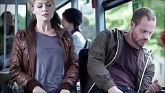 Encontro sexy em um ônibus