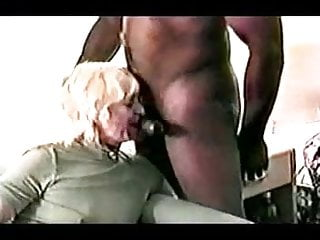 Old lady cock suck Old lady suck 1 black guy dry and i said old lady
