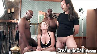 Messy Creampie for Milf
