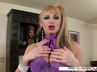 Hot milfs fuck giant cock Taylor wane takes a giant cock in every position
