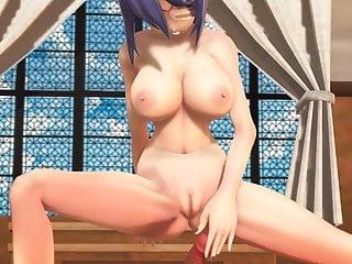 Cartoon gairls sexy Mmd sexy babe big tits cowgirl doggy position pov gv00166