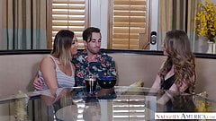 Big tits homewrecker fucks friend's hubs - Naughty America