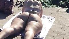 Pawg Butthole bikini voyeur