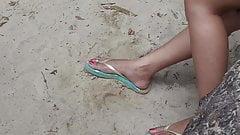 Philippine beach feet 1