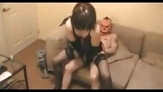 Hot CD ass fucked with 2 guys