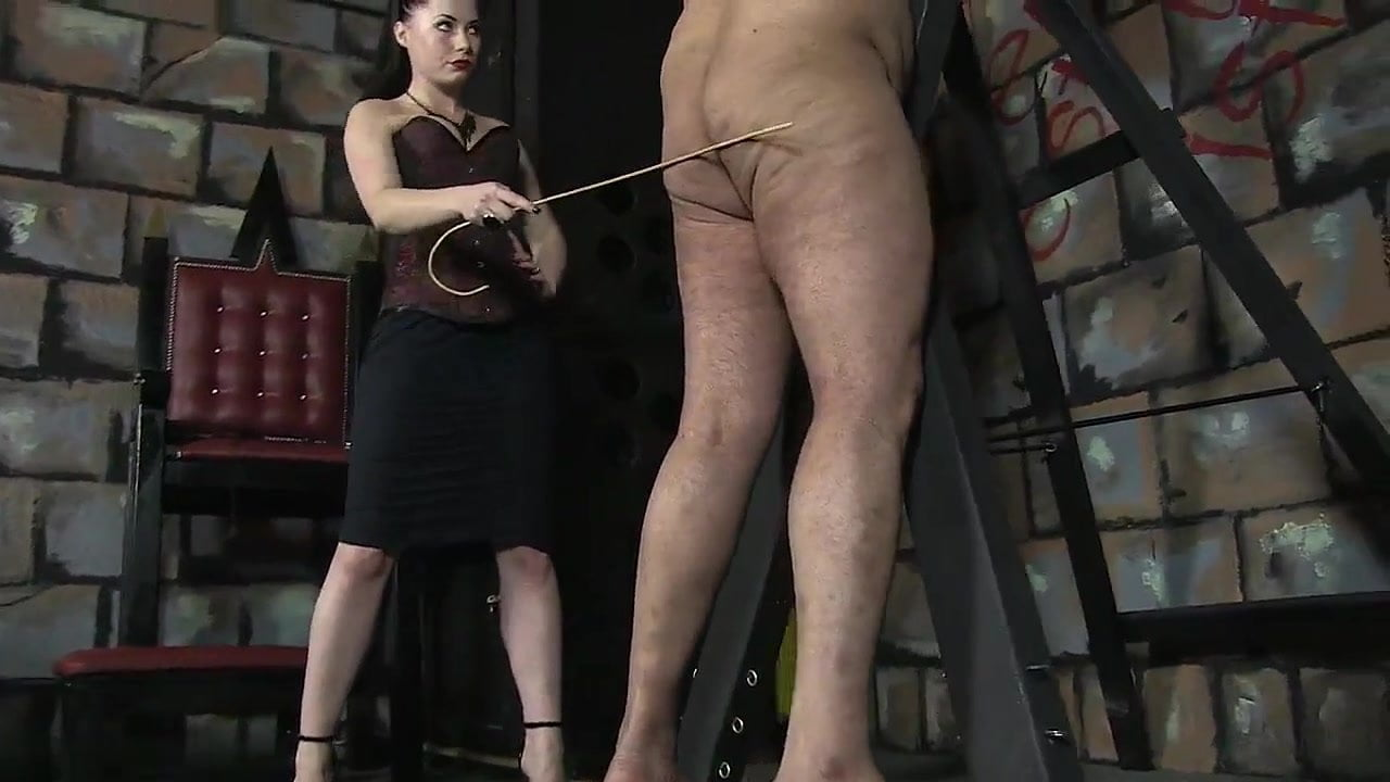 Extreme femdom caning porn