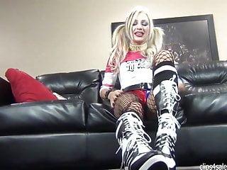 Harley quinn porn vid Harley quinn boot ass worship