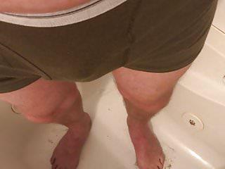 Men pissing underwear Pissing my underwear