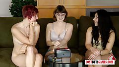 3 Women Test out Who Has the Best Memory Recall, Loser Faces