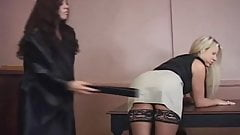 Spanked by the judge