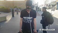 Mistress Foxx Public Bitch Walk