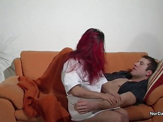 Japanese woman nursing home fuck - Redhead german nurse seduce to hard fuck at home visit