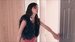 Emma Watson smoking a cigarette in The Bling Ring