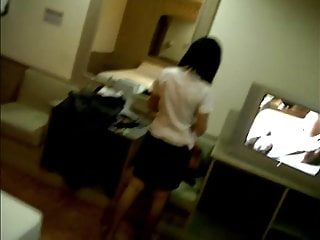 Asian teen prostitute tube Thai customer forgets condom with sideline prostitute