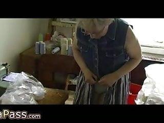 Sexy grannies in panties Omapass sexy grannies masturbating her hairy pussy