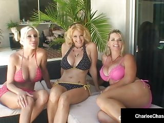 Free mrs porn vette video - Charlee chase puma swede vicky vette eat pussy by the pool