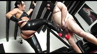 Punish fat man