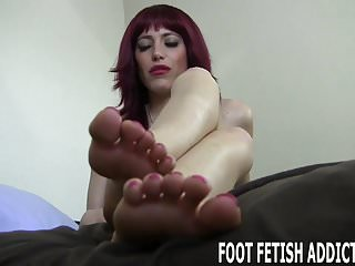 What should you feel inside vagina You should feel honored to worship my feet