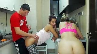 hot girls seducing the plumber