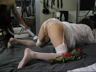 Virgins on wedding night - Sissy wedding night