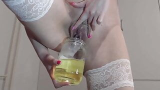 sexy pissing and domination