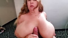 Brandy Talore Fan Titty Fuck 17