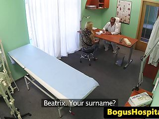 Gay doctor exams boy patient pics - Euro amateur patient pussylicked during exam