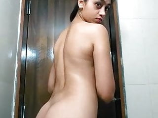 Nude indian slim girl pics - Sexy slim girl selfie video