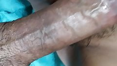 Cheating wife's hairy pussy gets cumshot