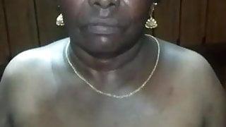 Tamil SATIN SILK maid