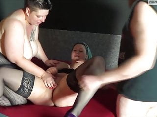 Poppy Rockrose Hard Threesome